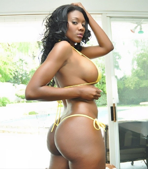 Unique black pornstar
